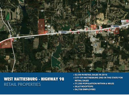 west-hattiesburg-highway-98-retail-corridor-map